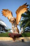 Volo della tigre Immagini Stock Libere da Diritti