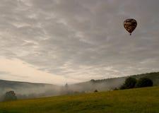 Volo di alba Fotografie Stock