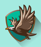 Volo di Eagle Immagine Stock Libera da Diritti