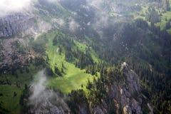 Volo di svago a Allgau, Baviera, Germania Fotografia Stock Libera da Diritti