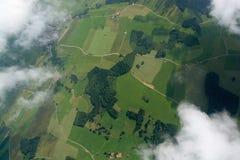 Volo di svago a Allgau, Baviera, Germania Immagine Stock Libera da Diritti
