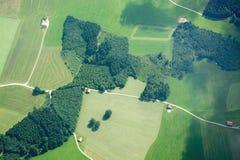 Volo di svago a Allgau, Baviera, Germania Immagini Stock Libere da Diritti