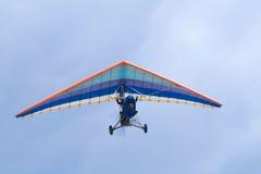 Volo estremo su deltaplane Fotografie Stock Libere da Diritti