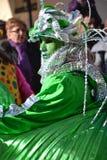 volo för karnevalgeometricogrupp Royaltyfria Bilder