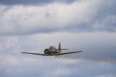 Volo giorno 11 maggio 2014 a Kjeller (airshow) Immagine Stock Libera da Diritti