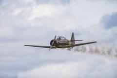 Volo giorno 11 maggio 2014 a Kjeller (airshow) Immagini Stock