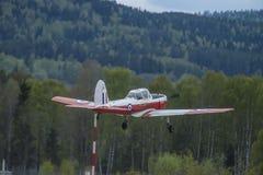 Volo giorno 11 maggio 2014 a Kjeller (airshow) Fotografie Stock