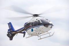 Volo Helecopter di vita Immagine Stock