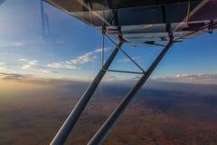 Volo Kilimanjaro Fotografie Stock Libere da Diritti