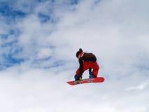 Volo nel cielo Fotografia Stock