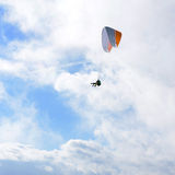 Volo nel cielo Fotografie Stock Libere da Diritti