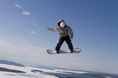 Volo nel cielo Fotografia Stock Libera da Diritti