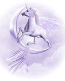 Volo Pegasus Immagini Stock