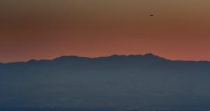 Volo sopra Salt Lake City Fotografie Stock Libere da Diritti