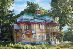 Volodarsky区博物馆中心 免版税库存图片