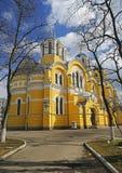 Volodymyr大教堂在基辅,乌克兰 库存照片