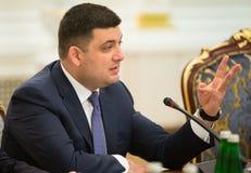 Volodymyr Groisman Royalty Free Stock Image