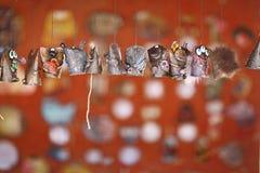 """Vologda, †de RÚSSIA """"o 4 de julho: artesanatos no festival da rua o 4 de julho de 2015 Imagens de Stock"""