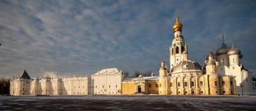 Vologda het Kremlin royalty-vrije stock afbeeldingen