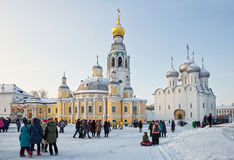 Vologda, Kremlin square Royalty Free Stock Images