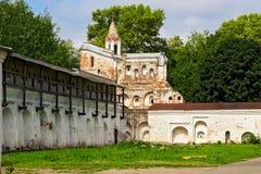 Vologda kremlin wall Stock Image