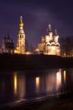 Vologda night Royalty Free Stock Image
