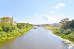 Vologda River, Russia. Royalty Free Stock Photos