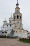 Vologda, Rosja Spaso-Prilutsky monaster jest Prawosławnym monasterem obraz royalty free