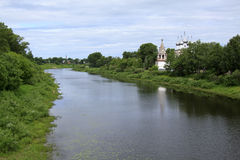 Vologda, Russia. Travel in Russia. Landmarks of Vologda Royalty Free Stock Photography