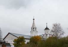 VOLOGDA, RUSSIA. The Spaso-Prilutsky Monastery is a Russian Orthodox monastery. Royalty Free Stock Photography