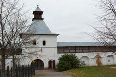 VOLOGDA, RUSSIA. The Spaso-Prilutsky Monastery is a Russian Orthodox monastery. Royalty Free Stock Photo