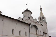 Vologda, Russland Das Spaso-Prilutskykloster ist ein russisches orthodoxes Kloster Stockbilder