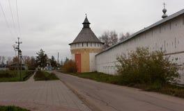 Vologda, Russland Das Spaso-Prilutskykloster ist ein russisches orthodoxes Kloster Stockbild