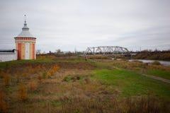 Vologda, Russland Das Spaso-Prilutskykloster ist ein russisches orthodoxes Kloster Lizenzfreie Stockbilder