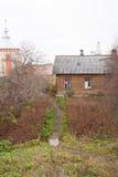 Vologda Ryssland Den Spaso-Prilutsky kloster är en rysk ortodox kloster Arkivfoto