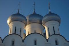 vologda sophia kremlin куполка собора Стоковая Фотография