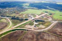 Vologda stadsfågelperspektiv Aerophotographing Vologda hus Arkivfoto