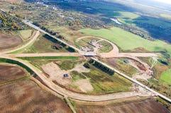 Vologda stadsfågelperspektiv Aerophotographing Vologda hus Arkivfoton
