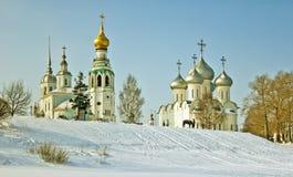 Vologda w zimie Zdjęcie Royalty Free