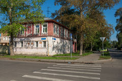 Vologda,  Wooden house Stock Images