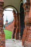 Volokolamsk克里姆林宫,俄罗斯 免版税库存照片