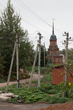 Volokolamsk der Kreml, Russland Stockfoto