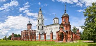Volokolamsk Kremlin ocated na miejscu antyczny hillfort zdjęcie stock