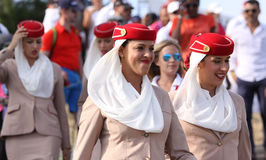 Volontärer på golffransmannen öppnar 2015 Royaltyfria Bilder