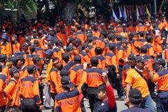 volontari Immagine Stock