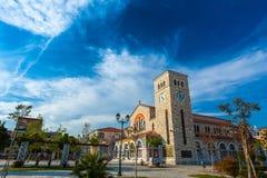 Volos, Magnisia, Hélade, Grécia - em abril de 2017 fotos de stock royalty free