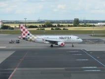Volotea Aerobus A319 na pasie startowym Fotografia Royalty Free