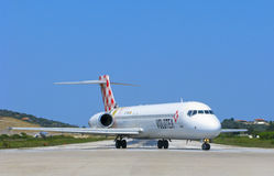 Volotea airlines, Boeing 717 Royalty Free Stock Photography