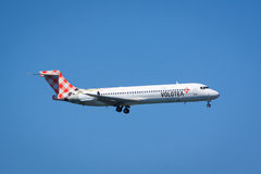 Volotea Boeing 717 Royalty Free Stock Image
