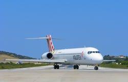 Volotea-Fluglinien Lizenzfreie Stockfotografie